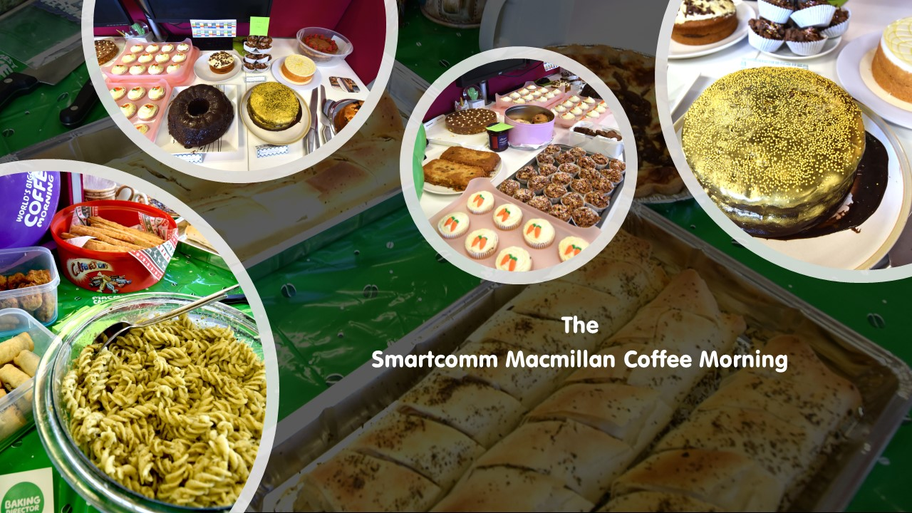 Smartcomm Macmillan Coffee Morning