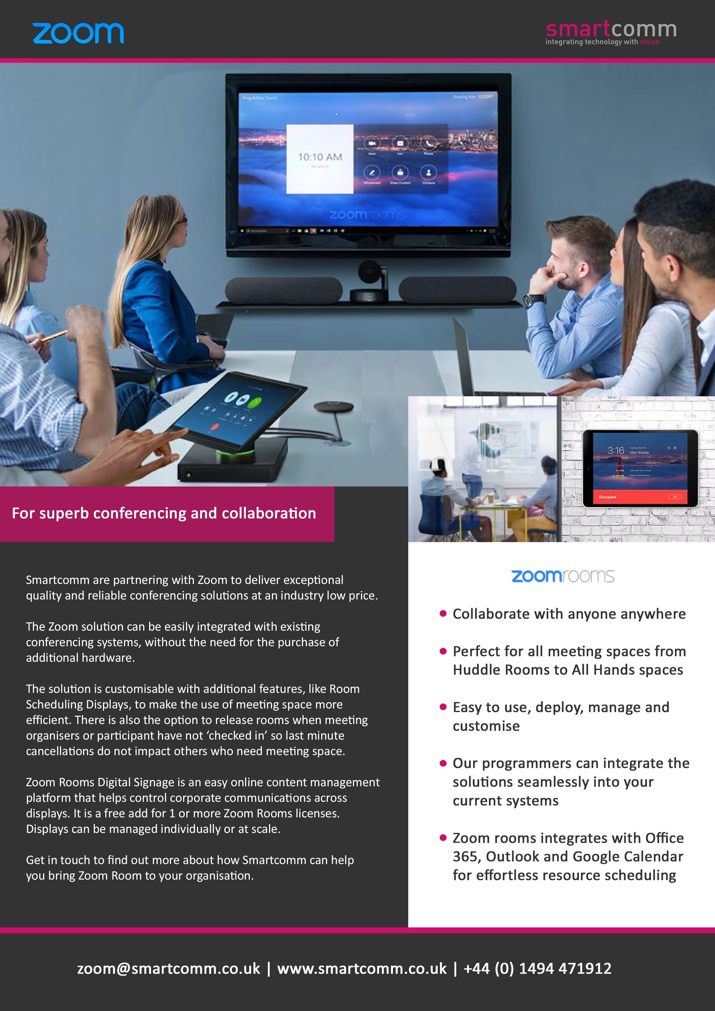 Smartcomm Zoom Partnership