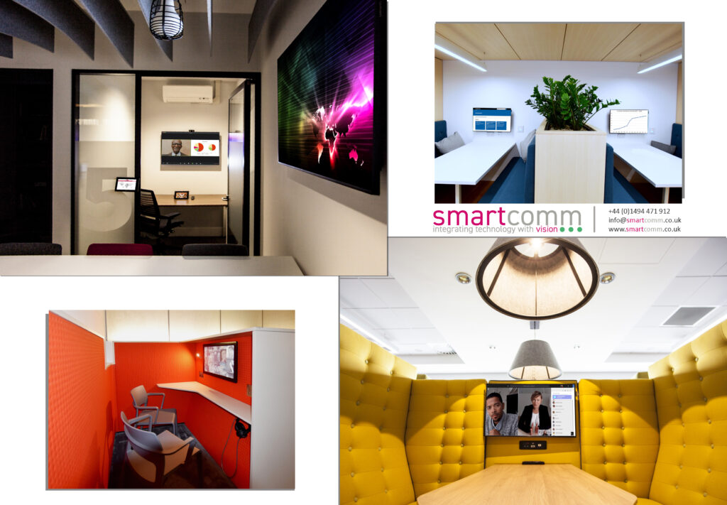 Huddle spaces by Smartcomm